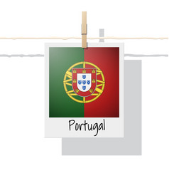 Photo of portugal flag vector