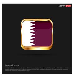 qatar flag design vector image