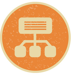 sitemap icon vector image
