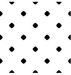 Polka dot pattern small circles and spots vector