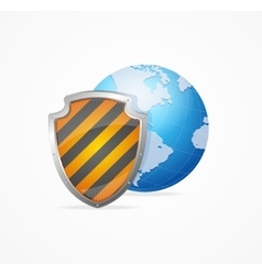 Global Safety Concept vector image