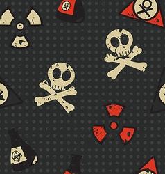 Biohazard seamless vector image