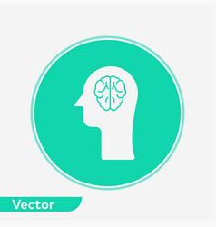brain icon sign symbol vector image