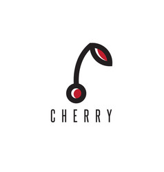 design template abstract cherry vector image