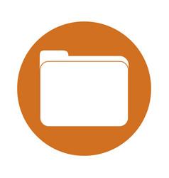 Documents folder icon vector