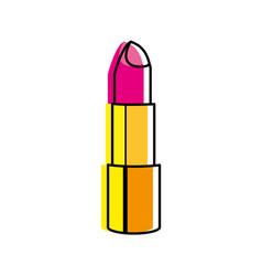 Isolated lipstick design vector
