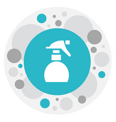 Of barber symbol on spray icon vector
