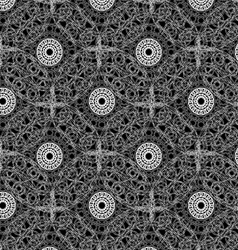 Seamless napkin pattern design vector