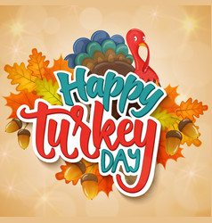Thanksgiving day greetings vector