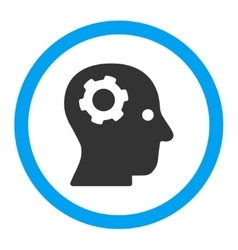 Thinking Rounded Icon vector