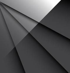 Dark Glossy Backgrou vector image vector image