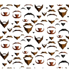 Mustache seamless vector image
