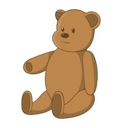 Bear icon cartoon style vector