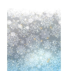 Blue abstract winter card EPS 8 vector