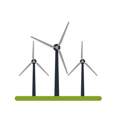 clean energy related icon image vector image