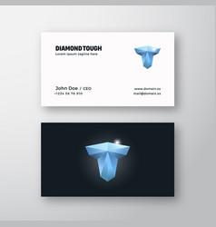 Diamond tough abstract modern logo vector