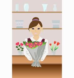 Florist vector