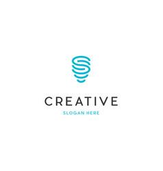 Funnel creative logo design vector