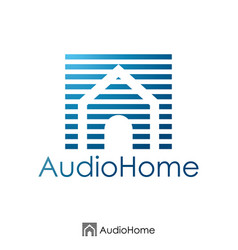 Initial letter a and house logo concept logo vector