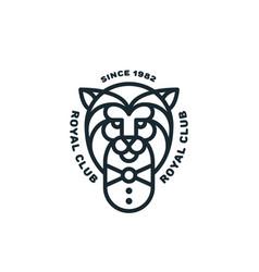 Lion logo vector