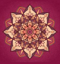 Mandala design vector