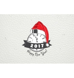 New Year and Merry Christmas Christmas shopping vector