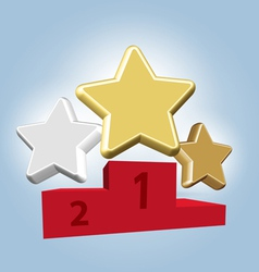 Stars awards vector image vector image