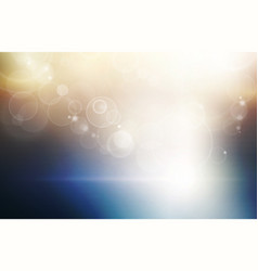 light at the horizon abstract conceptural dark vector image