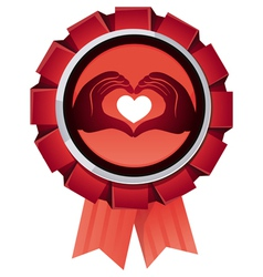 award for charity organisation vector image