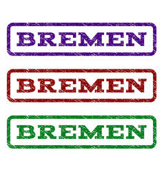 Bremen watermark stamp vector