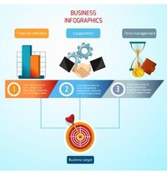 Business Infographics Set vector image