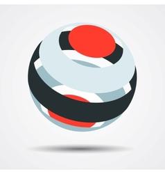 Color spheres set vector
