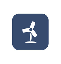 fan icon flat simple design vector image