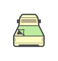 pickup accessory icon vector image