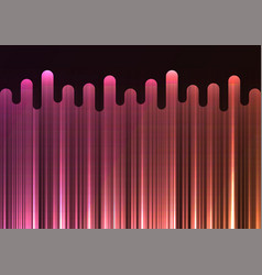 Pink melt line overlap abstract background vector