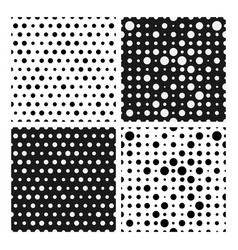 Tileable simple texture from small black and white vector