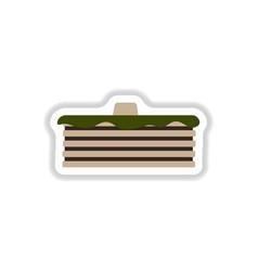 breakfast food menu item tasty fluffy homestyle vector image vector image