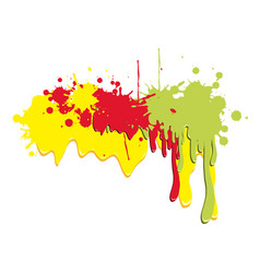 colored abstract picture backgroud icon vector image vector image