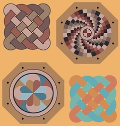 Byzantine art vector image vector image