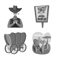 Design ranch and farm symbol collection vector