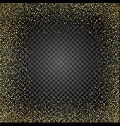 golden glitter texture rain golden gold confetti vector image