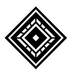 Isolated art deco shape design vector