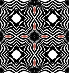 Seamless black pattern orient vector