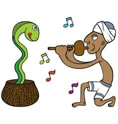 Snake Tamer vector