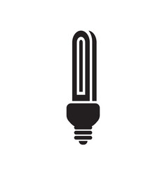 stick lamp icon design template isolated vector image