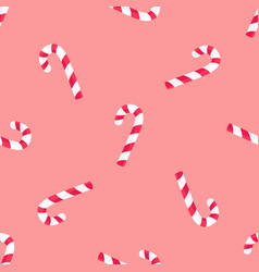 striped candy stick seamless pattern paper vector image