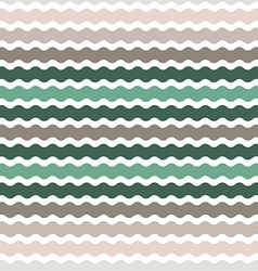 Wave green brown gradient background seamless vector image