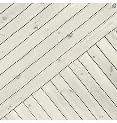 White Diagonal Planks vector image