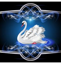 White Swan vector