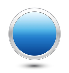 Empty Button vector image